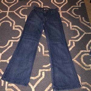 J Brand super soft and  High waist wide leg jeans